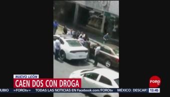 FOTO: Persecución en Nuevo León deja dos detenidos
