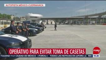 Foto: Policía Federal Operativo Casetas 27 Junio 2019