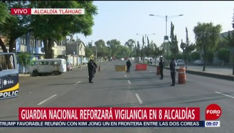 FOTO: Policías capitalinos realizan un operativo en Tláhuac, 30 Junio 2019
