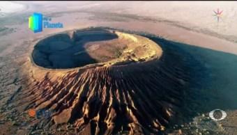 Foto: Por El Planeta: Cráter Elegante Sonora 25 Junio 2019