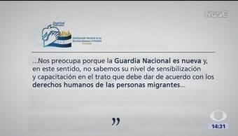 FOTO: Preocupa a Honduras despliegue de la Guardia Nacional