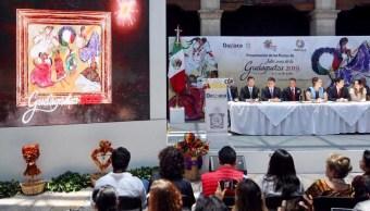 Foto: presentación de las fiestas de 'Julio, mes de la Guelaguetza 2019', 19 de junio 2019. Twitter @alejandromurat