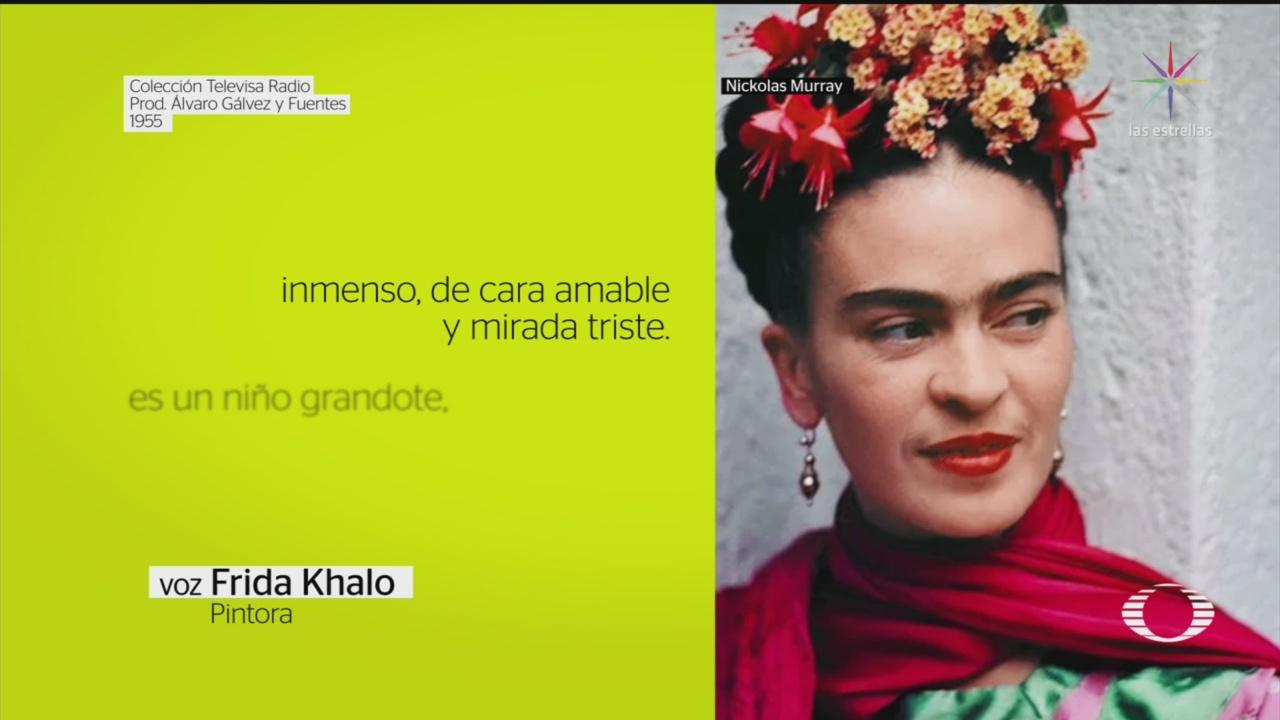 Foto: Grabación Voz Frida Khalo 12 Junio 2019