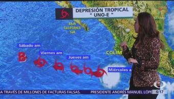 Prevén lluvias en 27 estados y olas de 3 metros en tres entidades