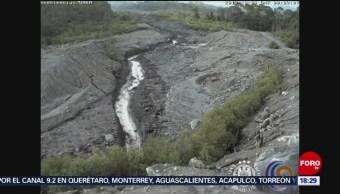 Foto: Inundaciones Lahares Colima 14 Junio 2019