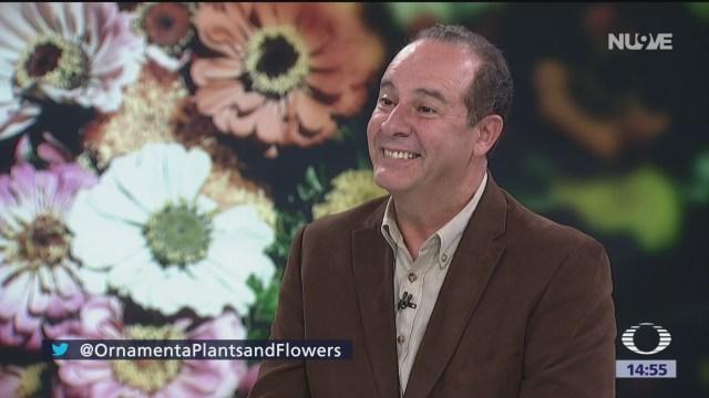Foto: Primera feria internacional de flores y plantas ornamentales