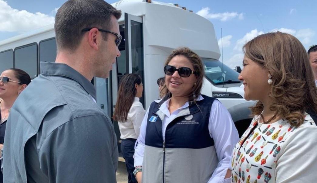 Foto: Primeras de damas de Guatemala y Honduras visitan la frontera entre México y Estados Unidos, 20 junio 2019