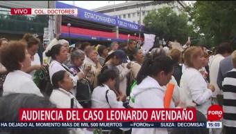Foto: Protestan para apoyar a sacerdote implicado en caso Leonardo Avendaño