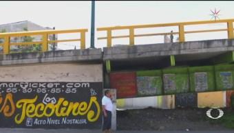 Foto: Puente 'Terror' Une Iztacalco Nezahualcóyotl 17 Junio 2019