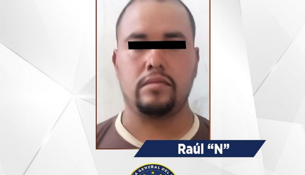 Foto: Raúl 'N', presunto integrante de Los Tequileros, 10 de junio 2019. Twitter @FGEGuerrero