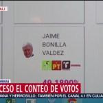 FOTO: Realizan conteo de votos en Baja California, 2 Junio 2019