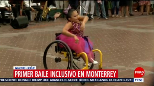 Realizan primer baile de inclusión en Monterrey