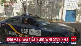 Foto: Regresa Casa Niña Olvidada Gasolinera Cdmx 12 Junio 2019