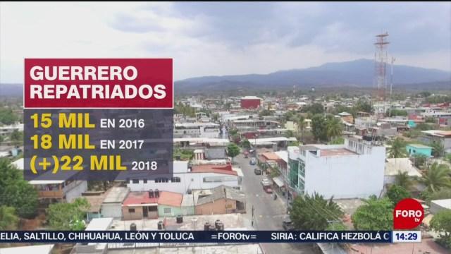 FOTO: Repatriados buscan reincorporarse laboralmente en Guerrero, 1 Junio 2019