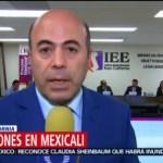 FOTO: Reportan 2 incidentes durante elección en Mexicali,2 Junio 2019