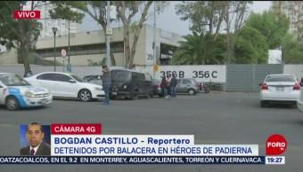 Foto: Detenidos Balacera Tlalpan Héroes de Padierna 18 Junio 2019