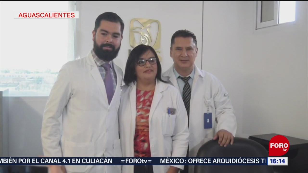 FOTO: Retiran tumor uterino a paciente embarazada