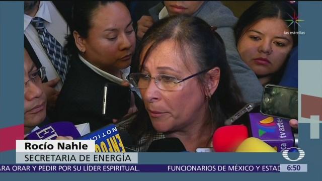 Rocío Nahle minimiza renuncia de Guillermo García Alcocer
