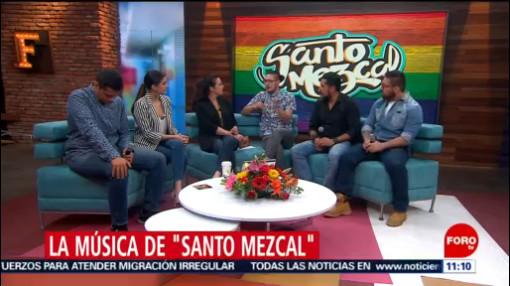 FOTO: Santo Mezcal promociona su más reciente sencillo 'Rumba pa' ti, 15 Junio 2019