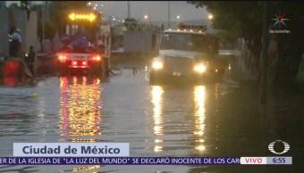 Se desborda Río de los Remedios por lluvias