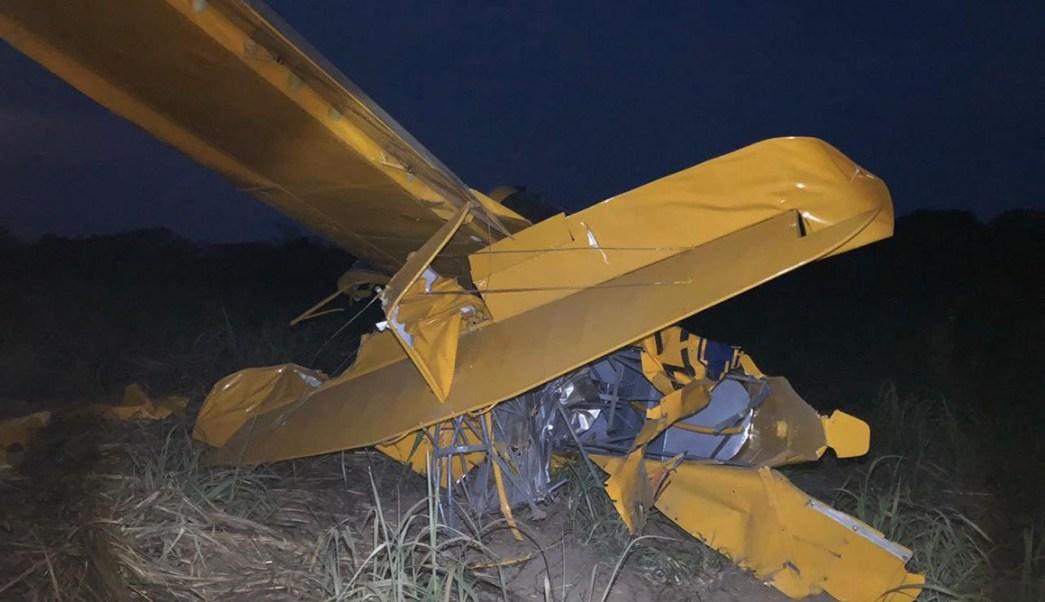 Se desploma avioneta en Oaxaca, el piloto huye (Twitter)