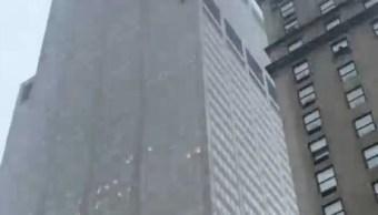 Foto Se estrella helicóptero en edificio de Manhattan 10 junio 2019
