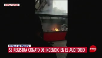 Foto: Incendia Auditorio Nacional 19 Junio 2019