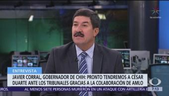 Se le acabó a César Duarte protección que tuvo con EPN: Javier Corral