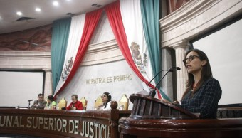 Foto; Diputados de Guerrero sesionan en sedes alternas, 11 de abril 2019. Twitter @congresogro