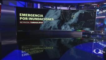 Foto: Lluvias Depresión Tropical 1-E México Clima 25 Junio 2019