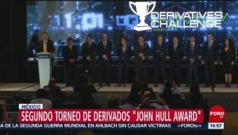 Foto: Segundo torneo de derivados 'John Hull Award'