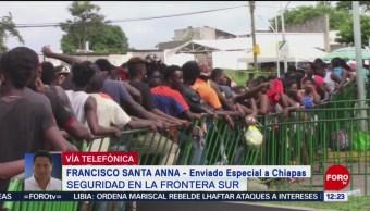 FOTO: Seguridad en la frontera sur de México, 29 Junio 2019