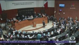 Senadores alistan viaje para acompañar a AMLO en Tijuana