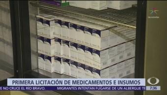 SHCP inicia primera licitación de compra de medicamentos
