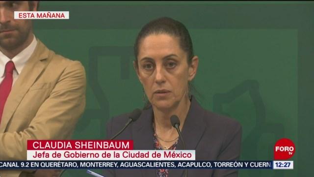 Sheinbaum niega reducción de recursos para Fiscalía Antisecuestros