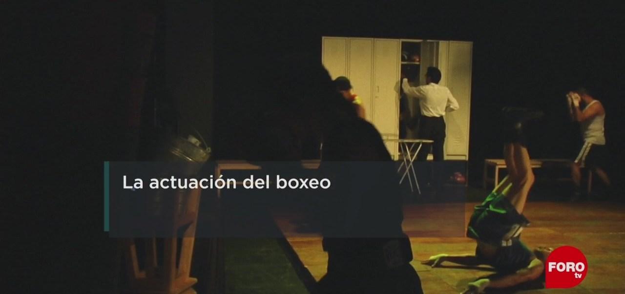 FOTO: Simulacro boxístico para actores, 22 Junio 2019