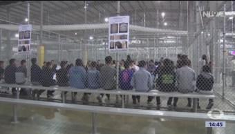 Foto: Sin alimentos, medicinas y cuidados, viven las familias migrantes en centros de detención