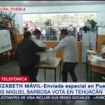 FOTO: Sin incidentes graves transcurren las elecciones en Puebla, 2 Junio 2019