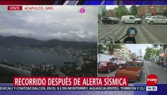 FOTO: Sismo se sintió moderado en el Puerto de Acapulco