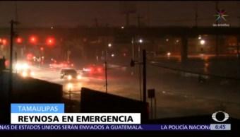 Suman dos muertos por inundaciones en Reynosa, Tamaulipas