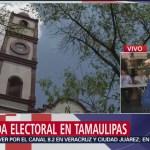 FOTO: Sin afectaciones significativas inicia apertura de casillas en Tamaulipas, 2 Junio 2019