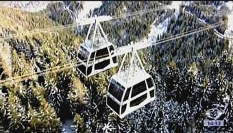 Foto: Teleférico, solución para el trasporte público