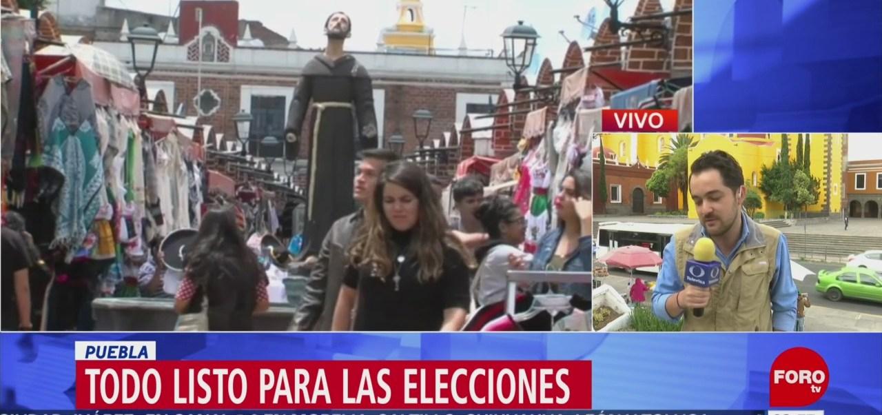 FOTO: Todo listo para la jornada electoral en 6 estados mexicanos, 1 Junio 2019