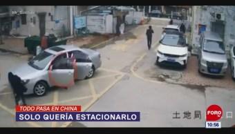 Todo Pasa En China: Solo quería estacionarlo