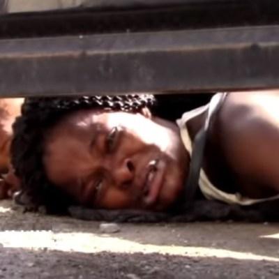 Migrante haitiana suplica por ayuda para su hijo en albergue de Chiapas
