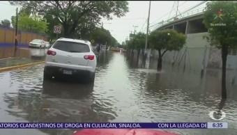Tormenta causa afectaciones en San Luis Potosí