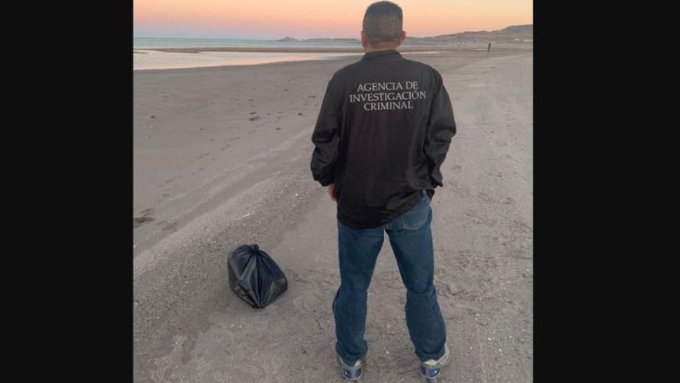 Foto: El decomiso se logró durante un operativo en el poblado de Puertecitos, municipio de Ensenada, Baja California, el 23 de junio de 2019 (Twitter @FGRMexico)