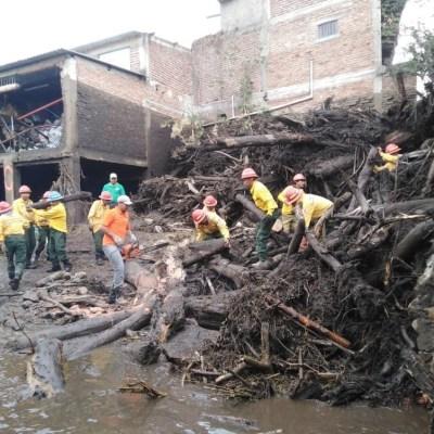 Aplican plan DN-III-E en Jalisco tras desbordamiento de río Apango; suman 2 muertos