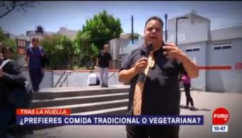 Tras la huella de la noticia: ¿Prefieres comida tradicional o vegetariana?