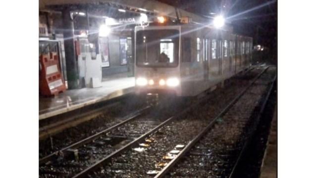 FOTO Tren Ligero CDMX suspenderá servicio, ¿cuándo y dónde? (Twitter @STE_CDMX 2019 cdmx)